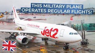 TRIPREPORT | Jet2.com (operated by AirTanker) | Airbus A330-200MRTT | Manchester - Palma De Mallorca