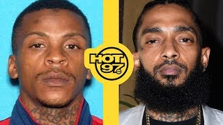 Alleged Murder Suspect In Nipsey Hussle Case Arrested + Lauren London Breaks Silence