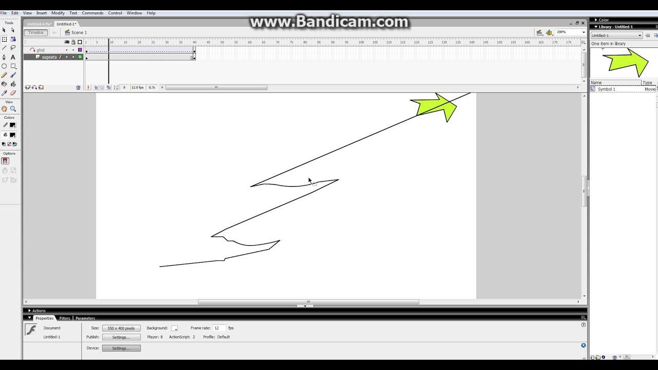 macromedia flash professional 8 tutorial motion guide youtube rh youtube com Flash 8 Animation 8 Flash Cartoon