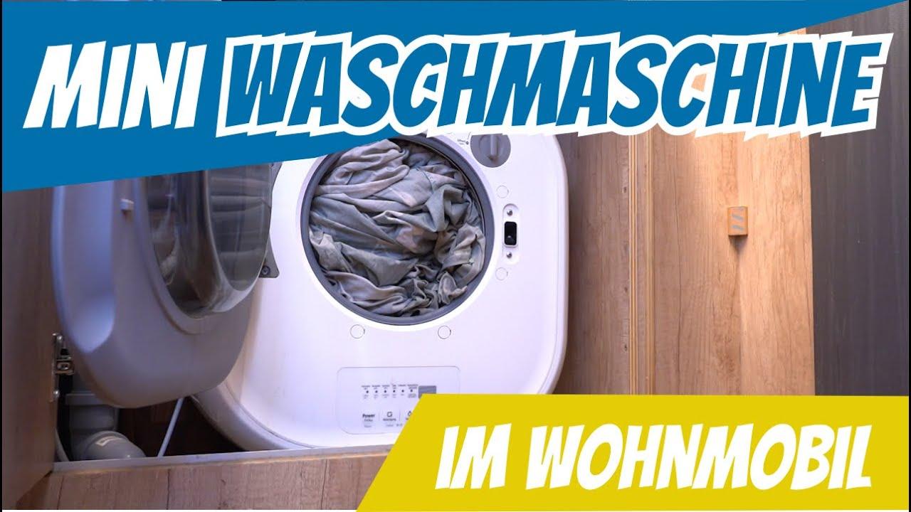 Mini Waschmaschine im Wohnmobil