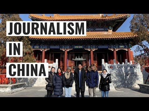 Journalism in China - Notre Dame / New Colombo Plan Funded Program