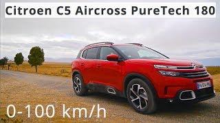 Citroen C5 Aircross PureTech 180, 0-100