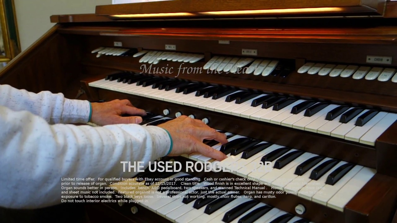 Rodgers Organ 32B for sale