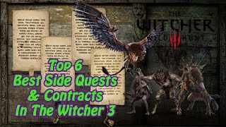 Top 6 Best Side Quests & Contracts In The Witcher 3