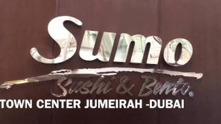 Restaurant review , Sumo Sushi & Bento (Japanese) Jumeirah review