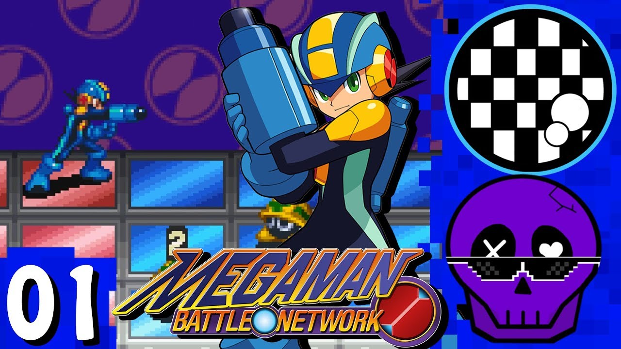 Megaman Battle Network | PART 1 | w/Trevor