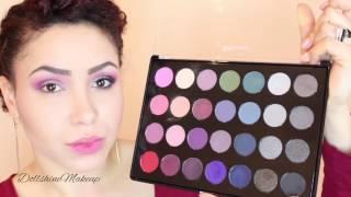 tutoriel maquillage bh cosmetics smokey eye palette