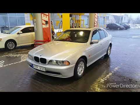 Обзор BMW Е39 из Литвы 3700$ + дрифт;)