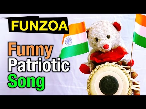 India Is Great | Funny Indian Independence Day Song in Hindi | FUNZOA TEDDY VIDEO
