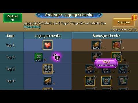 Lords Mobile Livestream Deutsch [Neues F2P Update Kommt! + Gildenevent Stream]