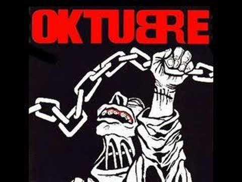 OKTUBRE - PRESO DE MI CIUDAD