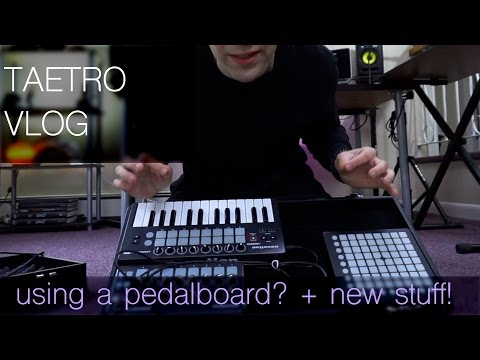 Pedalboard for gear? and NEW announcements!