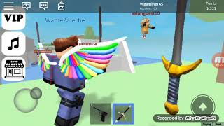 Playing person299's game on roblox! | ROBLOX