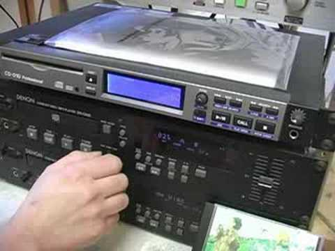 How a Radio Station Works : Radio Station Equipment: CD Play