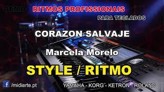♫ Ritmo / Style - CORAZON SALVAJE - Marcela Morelo