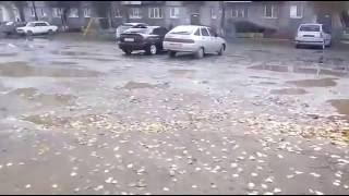 Дорога реж, в городе Реж!