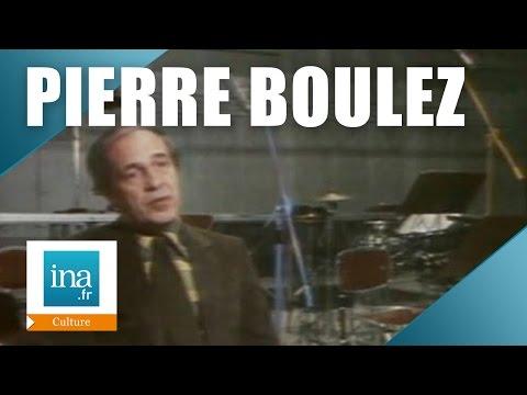 Pierre Boulez et la maison de disque Erato | Archive vidéo INA