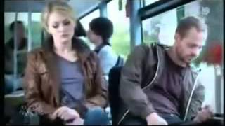 Girl gets horny at public bus