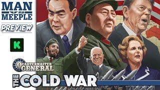 Quartermaster General: The Cold War Preview by Man Vs Meeple (Plastic Soldier Company)