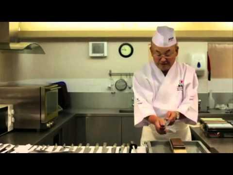 Japanese Knife Sharpening & Water Stones with Mino Tsuchida