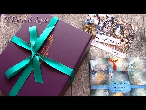 Caja sorpresa de materiales para manualidades y scrapbooking – Craftbox-DIY