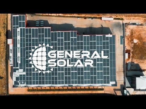 GENERAL SOLAR 2.2 MW'lık GÜLER SENTETİK GES (2019)