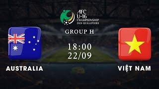Trực tiếp   Australia - Việt Nam   Vòng loại giải U16 châu Á 2020   VFF Channel