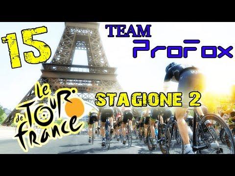 TOUR DE FRANCE 2017 PS4 - PRO TEAM #15 - GAMEPLAY ITA HD - ALTRO CHE VETTEL!
