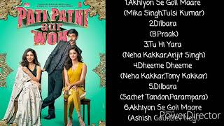 Jukebox | Pati Patni aur Woh | Audio Song | Karthik A  | Bhumi P | Ananya P