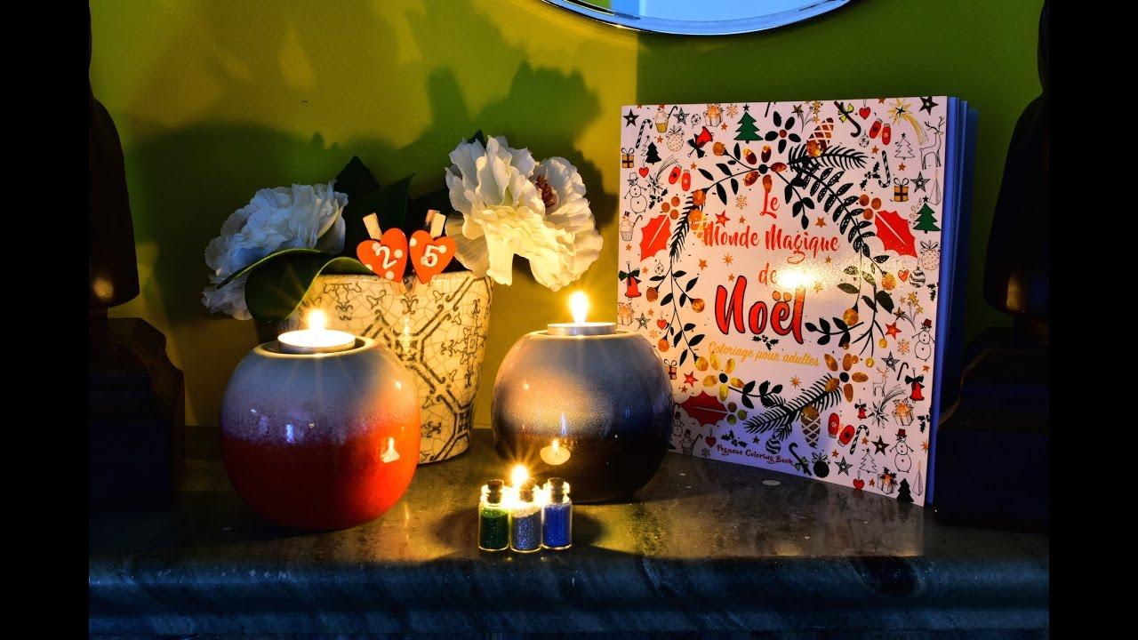 Livre De Coloriage Pour Adultes Le Monde Magique De Noel
