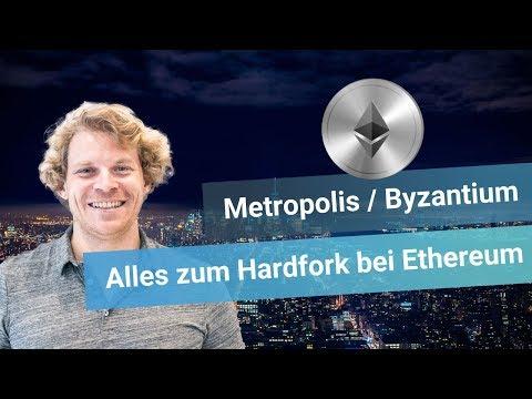 Metropolis / Byzantium Hardfork auf Ethereum - das musst du wissen!