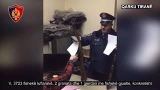 Vijon dorëzimi vullnetar i armëve dhe municioneve luftarake Policia e Tiranës