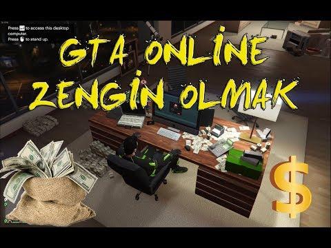 GTA 5 ONLİNE' DA MİLYONER OLMAK ! ( Hemde Hilesiz )