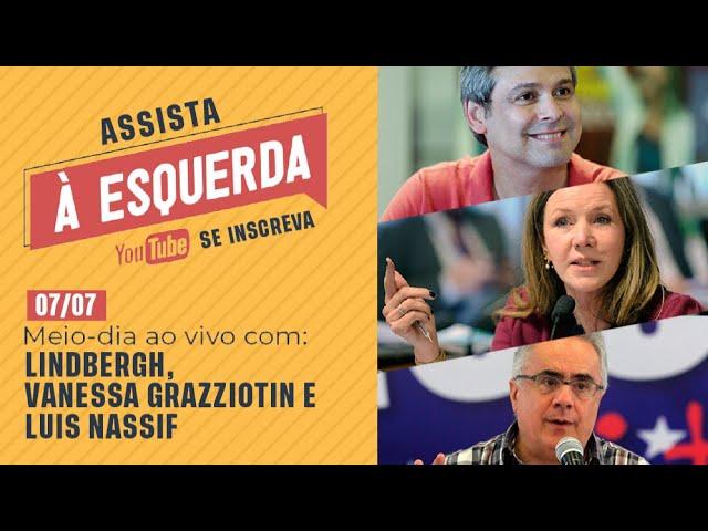 Meio-dia Ao Vivo com Lindbergh, Vanessa Grazziotin e Luis Nassif