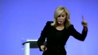 Paula White preaching about