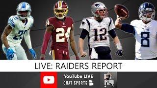 Raiders Rumors: Darius Slay Trade, Josh Norman, Derek Carr Or Tom Brady, Jameis Winston, Mariota?