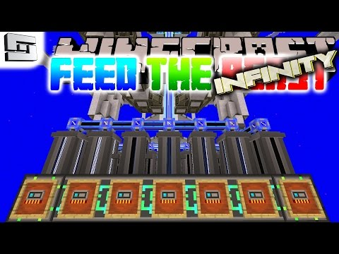 Minecraft FTB Infinity - ADVANCED AE NETWORKS! ( Hermitcraft Feed The Beast E27 )