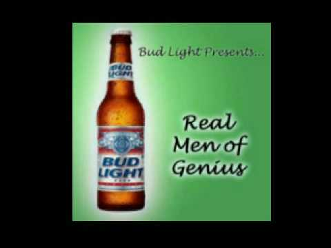 Bud light presents real men of genius part 1 youtube bud light presents real men of genius part 1 aloadofball Image collections