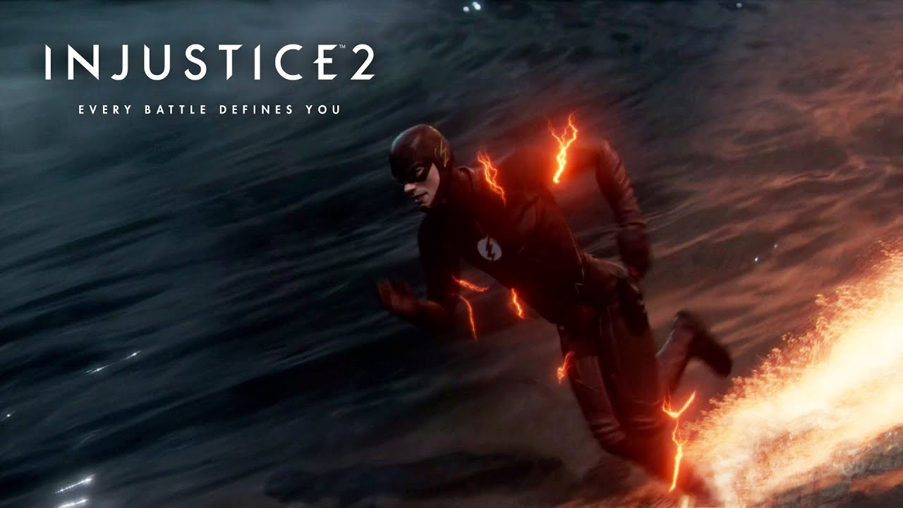 injustice 2 the flash cw suit zoom in injustice 2 youtube