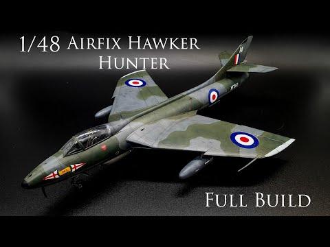 Airfix Hawker Hunter 1/48 Build