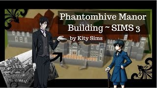 Building Phantomhive Manor from manga and anime Black Butler (Kuros...
