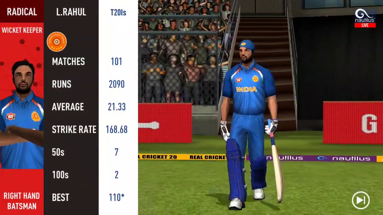 LIVE: India vs Pakistan T20 Match Final Over | IND vs PAK T20 Live | Match 16 | SEP 2020 RealCricket
