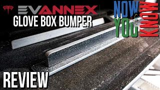 Evannex Tesla Model X Glove Box Bumper Review