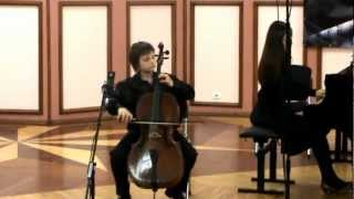 Boccherini Cello sonata №2 in C major 1,2,3,pt Боккерини соната №2