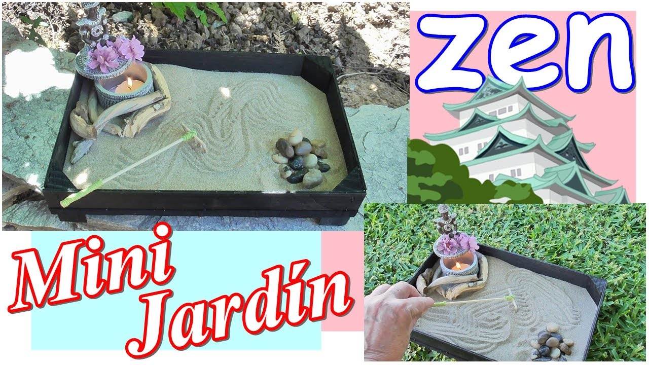 Mini jardn de mesa zen karesansui haz tu jardn zen youtube mini garden table zen karesansui do it yourself solutioingenieria