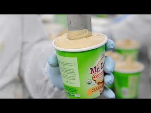 See How Vegan Ice Cream is Made!