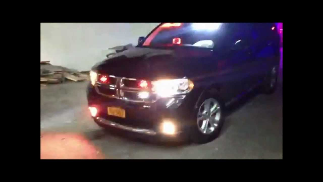 Dodge Durango Fully Equipped With Lights And Sirens Youtube