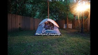 Glamping - Camping in The Backyard