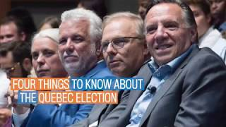 Four things to know about the Quebec election