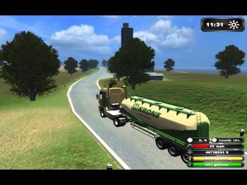 Farming Simulator 2011-My Trucks Under Name KRONE